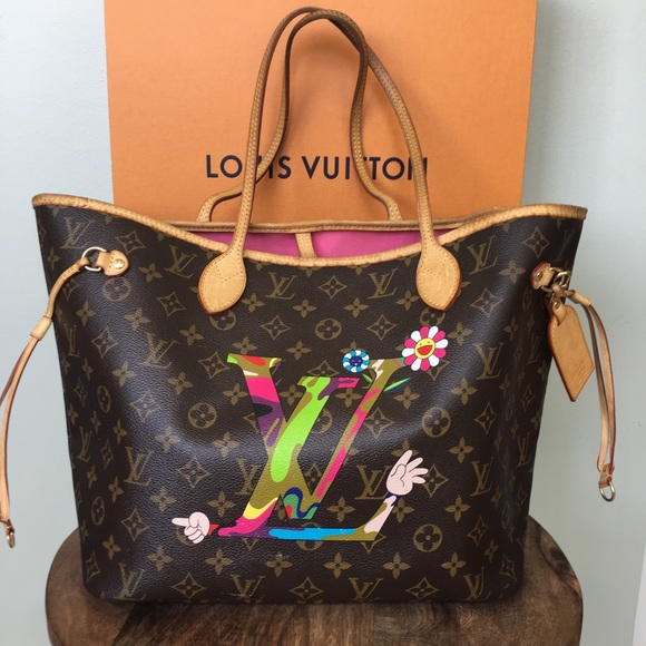 ec92249662 Louis Vuitton Bags | Limited Edition Murakami Neverfull | Poshmark